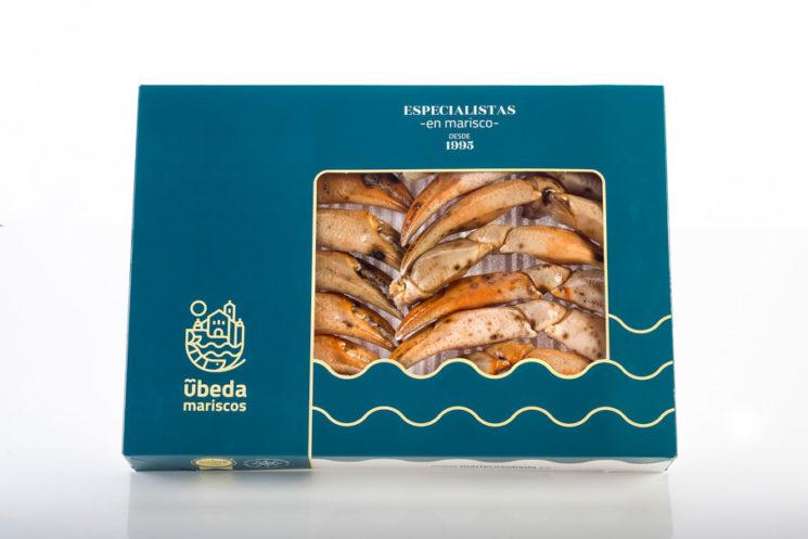 Bocas de cangrejo cocidas en estuche de 1 Kg